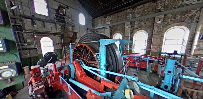 Mining engine equipment